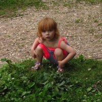 Рыженькая девочка :: Андрей Лукьянов