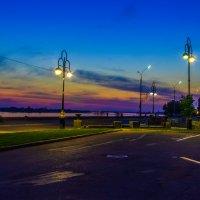 Вечерняя набережная в Томске :: Дима Пискунов