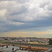 перед дождём, с крыши :: Елена