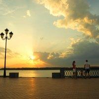 Тёплым, летним вечером у Волги... :: nika555nika Ирина