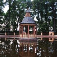 Беседка в Храме Рязанской области :: AllaSaa