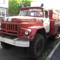 Пожарный ЗИЛ :: Дмитрий Никитин