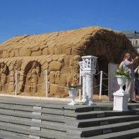 Древнеегипетский храм из песка :: Дмитрий Никитин
