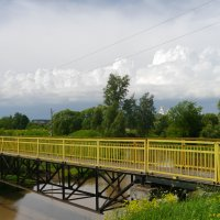 Желтый мост. :: Андрей Батранин