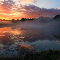 Приходил туман украдкой Рано утром, на заре :: Александр Лукин