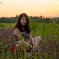 Летний вечер и закат... :: Аннета /Анна/ Шу