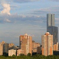 Многоэтажная окраина Москвы. :: Сергей Бурлакин