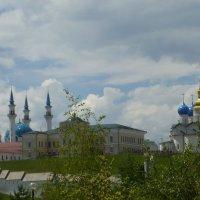 Вид на Казанский Кремль :: Наиля