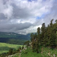 На перевале Азиш-Тау :: Алексей Меринов
