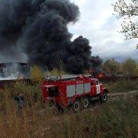 Пожар. :: Alex 711402