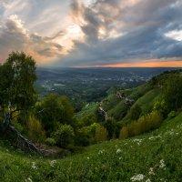 Вечер на горе Малое Седло. :: Фёдор. Лашков