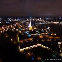 Петропавловка, вид сверху :: Алексей Торозеров