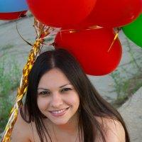 Портрет с шариками :: Екатерина Кузнецова