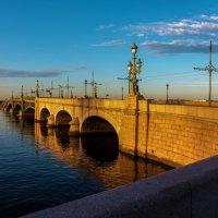 Троицкий мост и утренний свет :: Valerii Ivanov