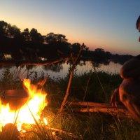 Вечер на берегу Угры :: Дядя Юра
