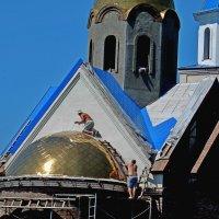 Строится храм :: Владимир