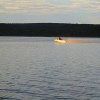 Вечером на озере. :: Татьяна ❁