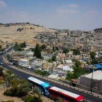 Иерусалим, Старый Город, вид со стены на Масличную гору :: Игорь Герман