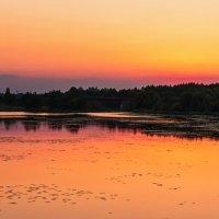 Закат над Подберезью :: Tatsiana Latushko