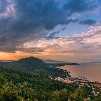 Закат над Корфу :: Тиша