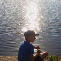 Он ловил солнце, а не рыбу :: Андрей Лукьянов
