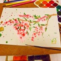Цветущая ветвь :: Анастасия Белякова
