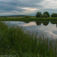 Облака в озере. :: Виктор Евстратов