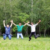 Веселые парни :: Лилия Масло