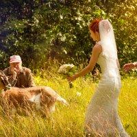 Дед, жених и невеста. :: Денис Бобров