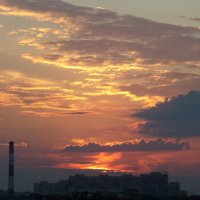 На закате... :: Марина Харченкова