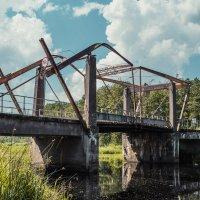 Разводной мост в краю болот и лесов :: Игорь Вишняков