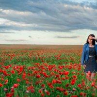 На маковом поле :: Ильмар Мансуров