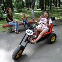 Велопрогон. :: Мила Бовкун