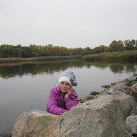 Осень на Днепре. :: Ирина Диденко