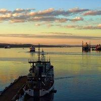 Кольский залив. Полночь :: Андрей Мелехов