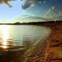 вечер на пляже :: Александр Прокудин