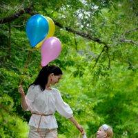 мама и дочь :: Наталья Слисаренко
