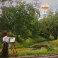 В парке :: Elena Fokina