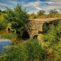 Мост через реку Дрезна :: Андрей Дворников