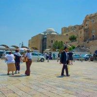 Иерусалим, Старый Город, вид на еврейский квартал от Стены Плача :: Игорь Герман