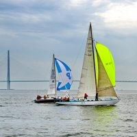 Русский мост и лодки :: Ingwar