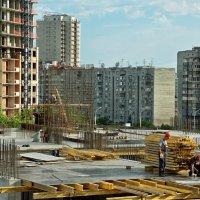 Город строится :: Дмитрий Конев