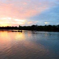 Рассвет на Дунае :: Nina Streapan
