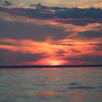 Закат над морем :: Ольга НН