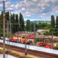 Урбанистические нагромождения :: Юрий Яловенко