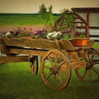 Новый дизайн старого транспортного средства... :: Tatiana Markova