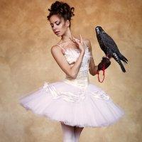 Балерина с соколом :: Павел Ребрук