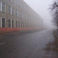 Туманное  утро  в  Ивано - Франковске :: Андрей  Васильевич Коляскин