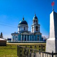 Храм село Воскресенка Челябинская область :: Владимир Агафонов