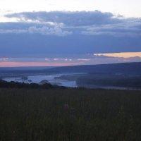 закат над Вяткой :: Алексей Логинов